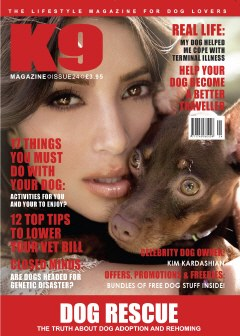 Kim Kardashian Talks to K9 Magazine
