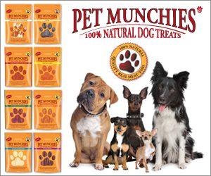 Pet Munchies Gourmet dog treats