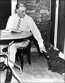 Fala - Franklin D. Roosevelt