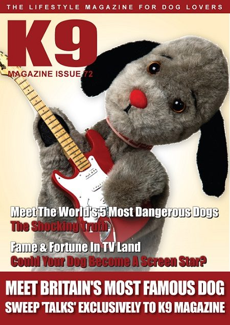 K9 Magazine Issue 72 Cover - Sweep web