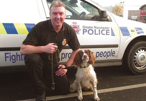Day in the life of police dog handler