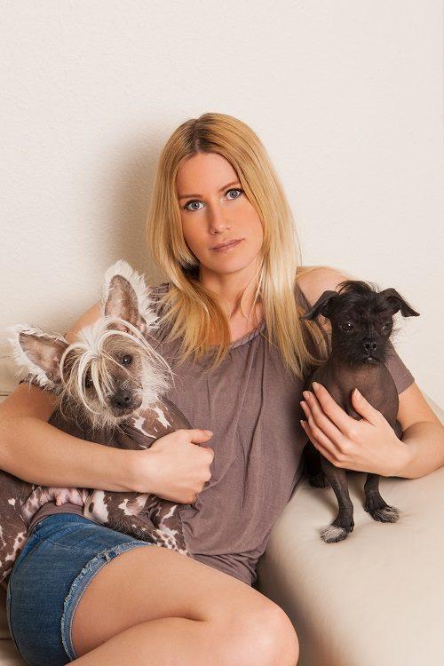 Danish Model Barbara Zatler Talks Dogs