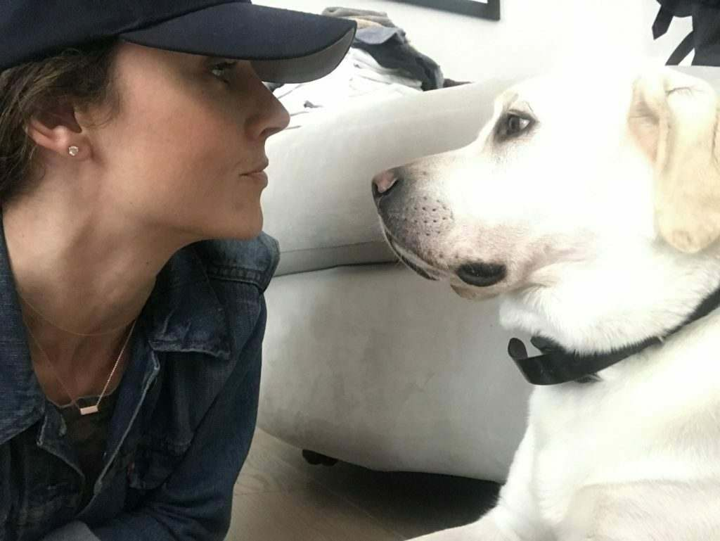 """Nikki DeLoach: """"Dogs Make You A More Healthy Human Being"""""""