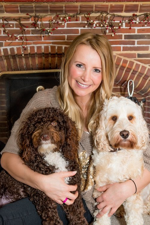 Actress Carley Stenson Shares the Spotlight with Her Dogs