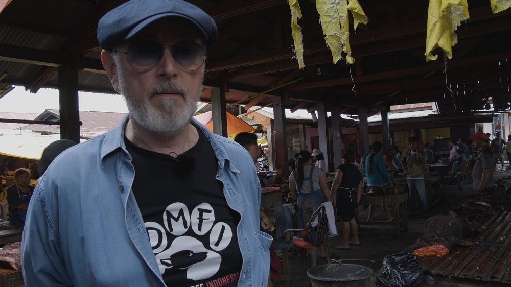 Peter Egan Visited Indonesia, Meet the Dogs He Saved